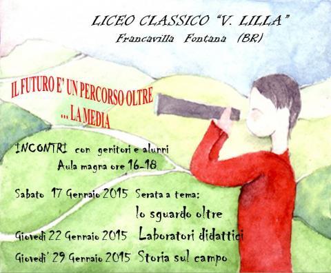 Invito orientamento 2015 Liceo Classico